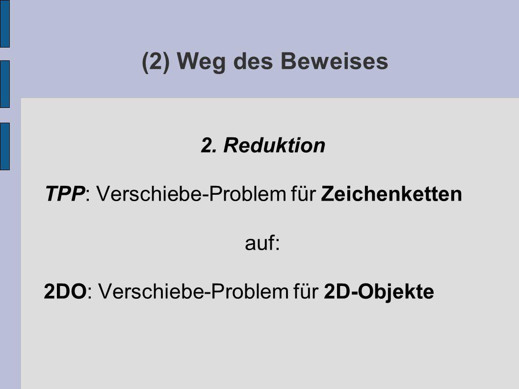 (2) Weg des Beweises 2.