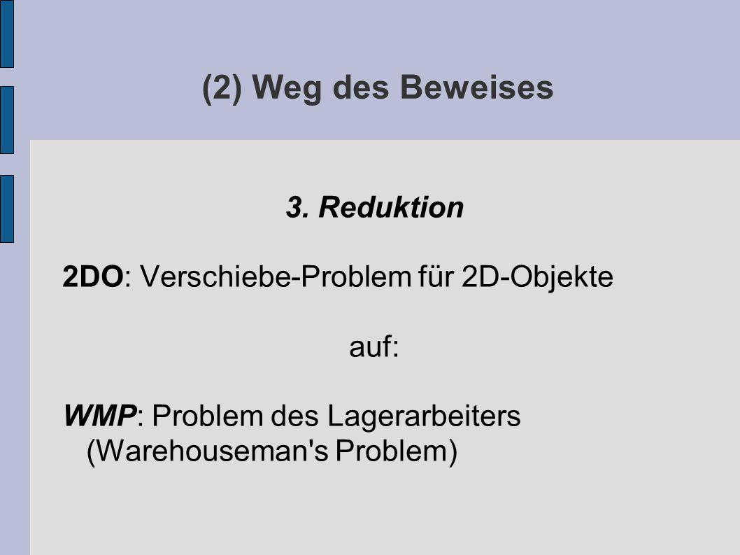 (2) Weg des Beweises 3.