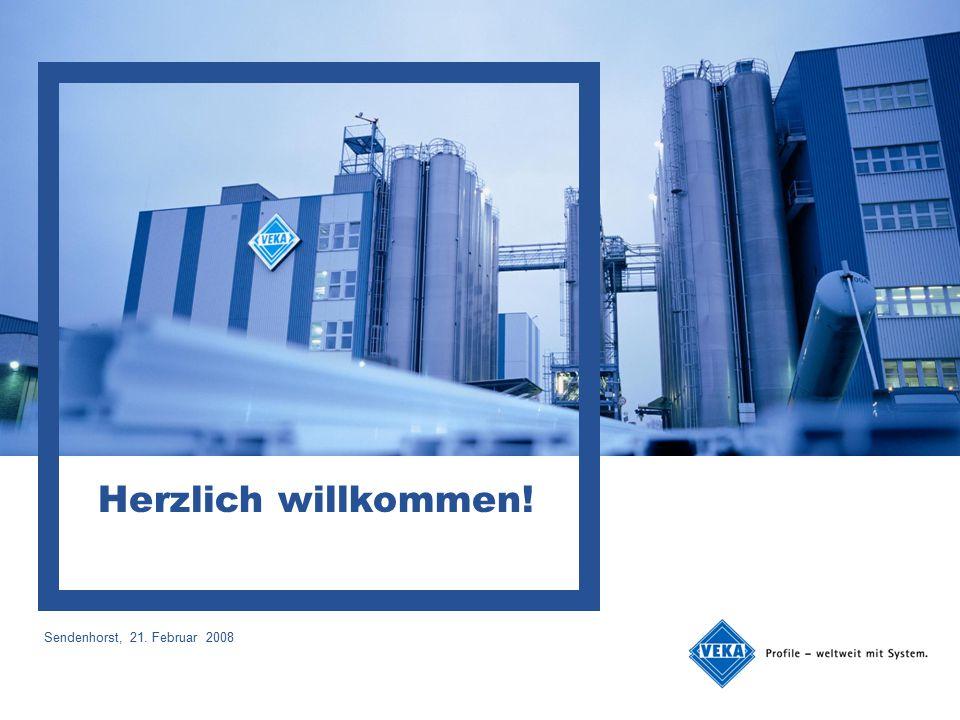 Ort, Datum Herzlich willkommen! Sendenhorst, 21. Februar 2008