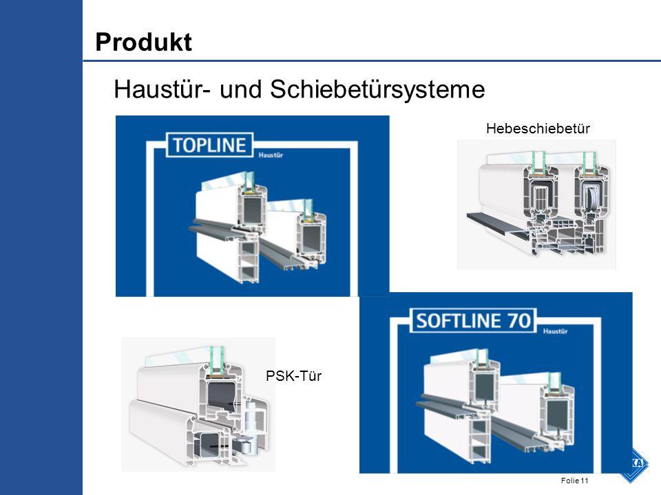 Folie 11 Haustür- und Schiebetürsysteme Hebeschiebetür PSK-Tür Produkt