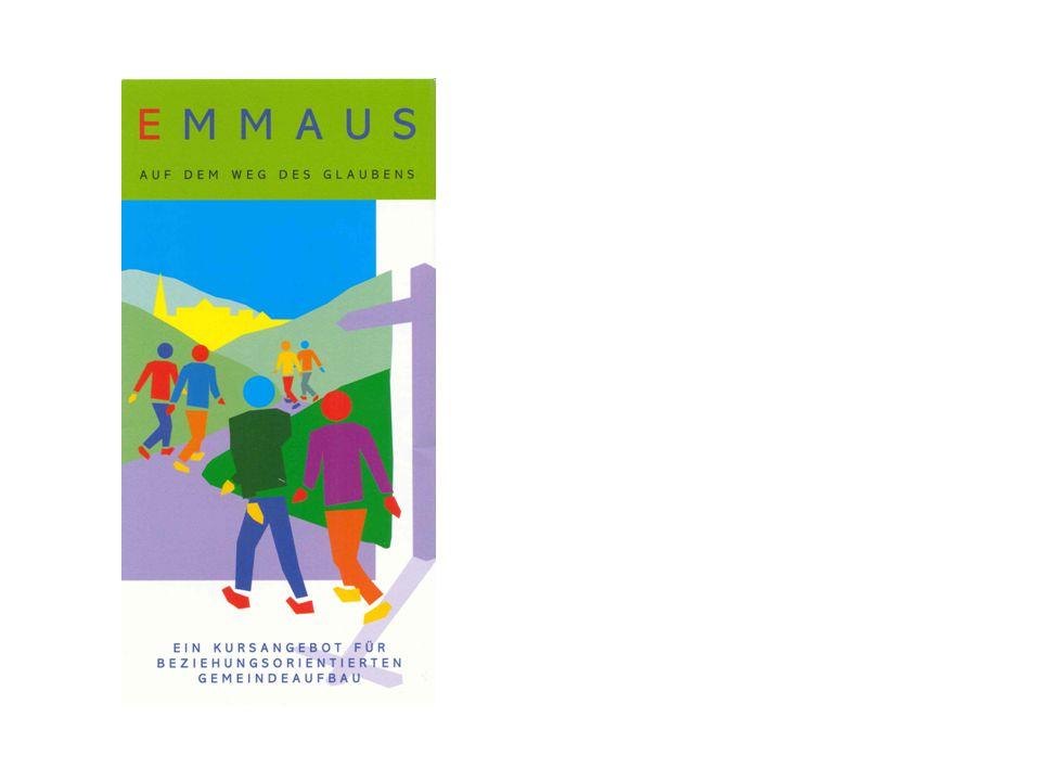 Weiterführendes Material Growth courses can be used Entweder wird zu weiteren Kursen zur Vertiefung immer wieder einmal eingeladen, oder aber ein Teil der Gruppe bleibt als Emmaus-Gruppe zusammen und bearbeitet als Gemeindekreis die weiterführenden Materialien (in Auswahl).