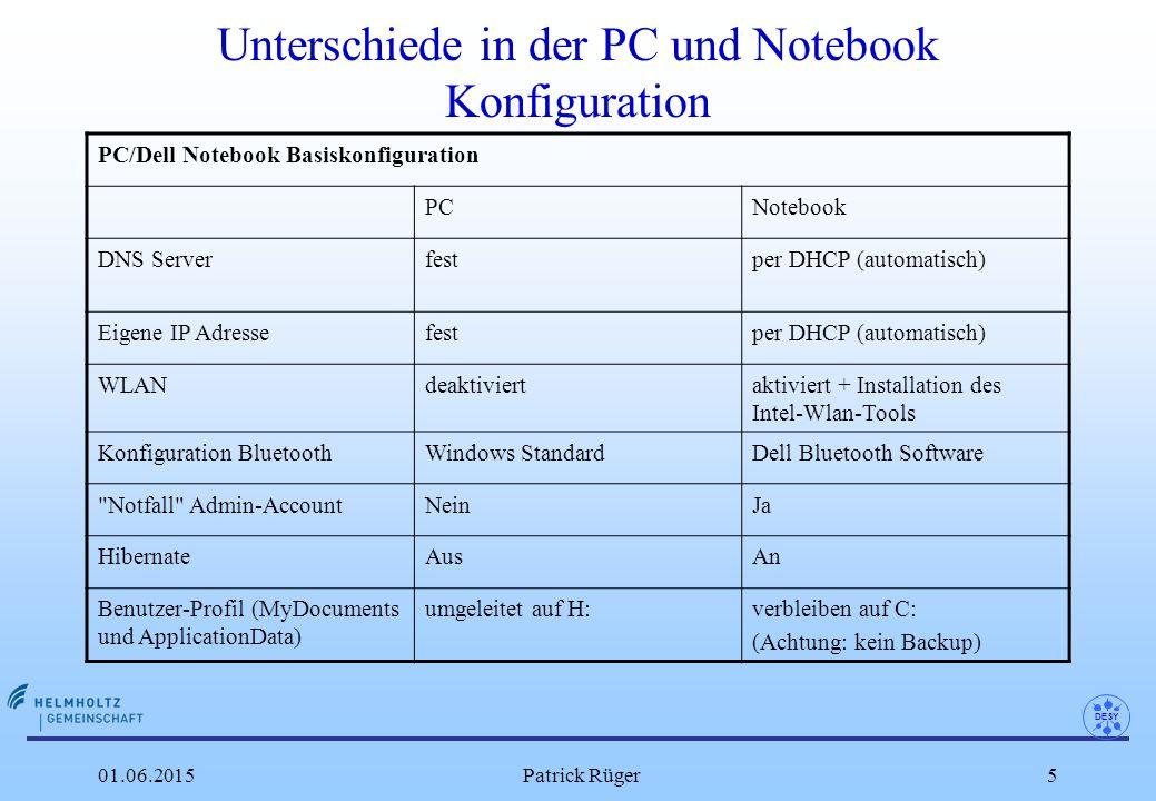 "DESY 01.06.2015Patrick Rüger26 Windows XP Diagnose-Programme l Festplatten Defragmenierer: Run ""dfrg.msc oder (Explorer- c: -Eigenschaften-Tools-Defrag) -> ""Analyze n hier bekommt man gute Hinweise, welche Dateien oft benutzt werden."