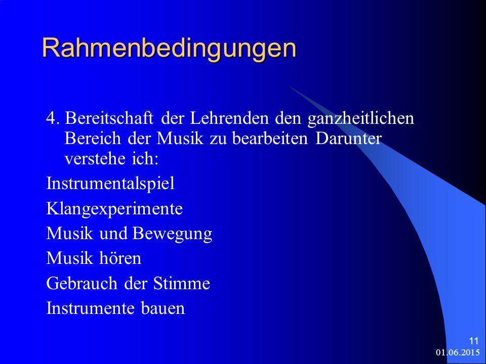 01.06.2015 11 Rahmenbedingungen 4.
