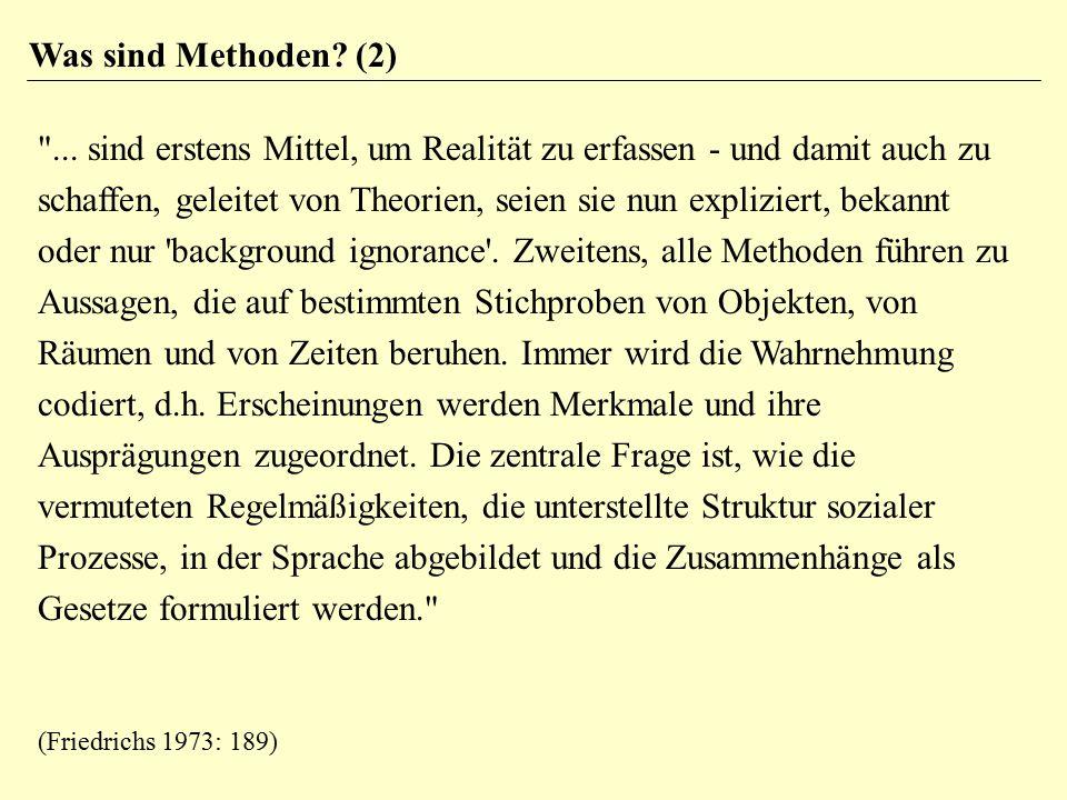 Was sind Methoden? (2)