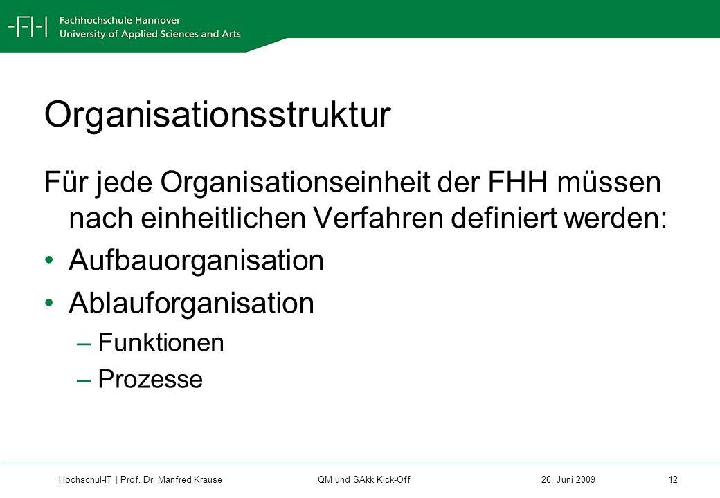 Hochschul-IT | Prof.Dr. Manfred Krause 12 26.
