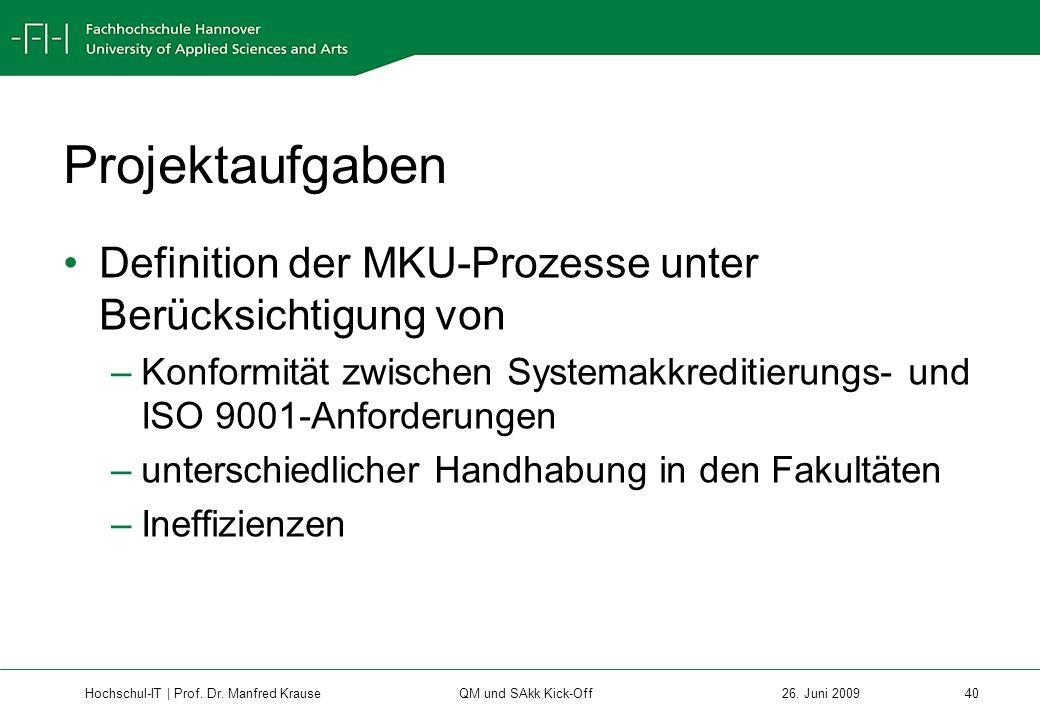 Hochschul-IT | Prof.Dr. Manfred Krause 40 26.
