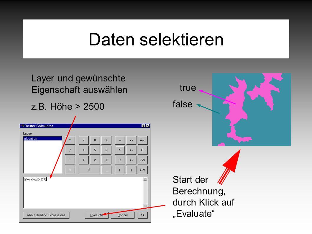 Daten selektieren Layer und gewünschte Eigenschaft auswählen z.B.