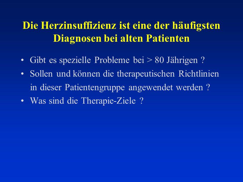 10 692 2 7807 912 74 % 26 %  80 years < 80 years Median = 85 years Octogenerians in Euro-HF