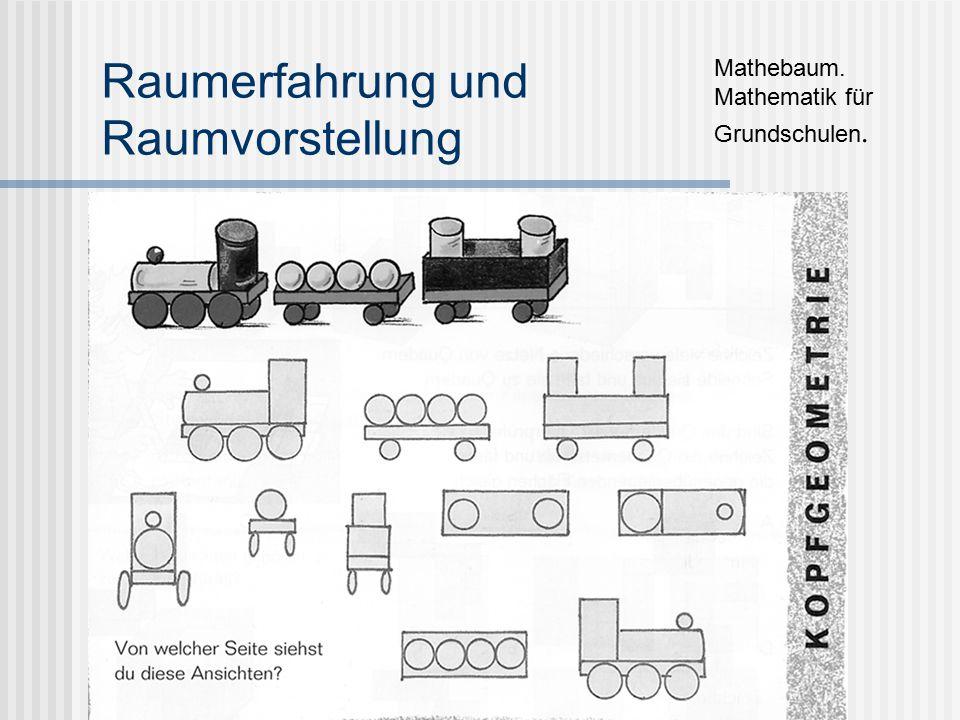 Raumerfahrung und Raumvorstellung Mathebaum. Mathematik für Grundschulen.
