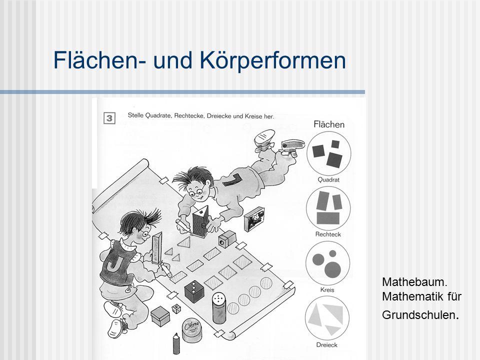 Flächen- und Körperformen Mathebaum. Mathematik für Grundschulen.