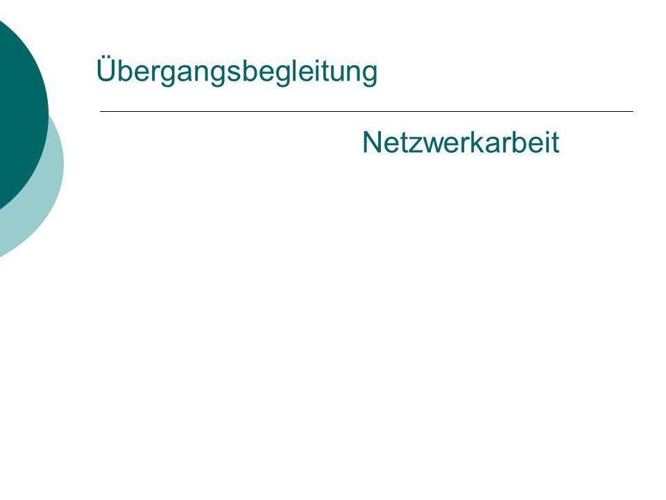 Übergangsbegleitung Netzwerkarbeit