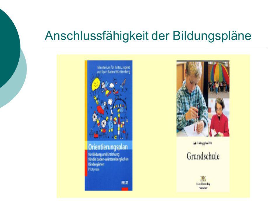 """Baden-Württemberg  Programm """"Schulreifes Kind  """"Schulanfang auf neuen Wegen  Bildungshaus für 3- bis 10-Jährige"""