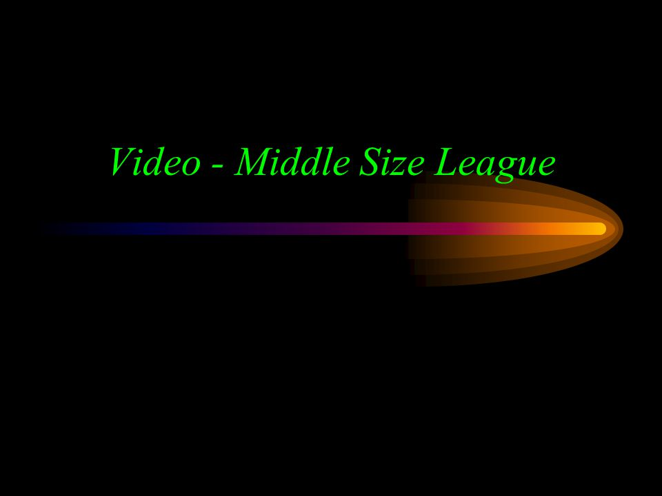 Video - Middle Size League
