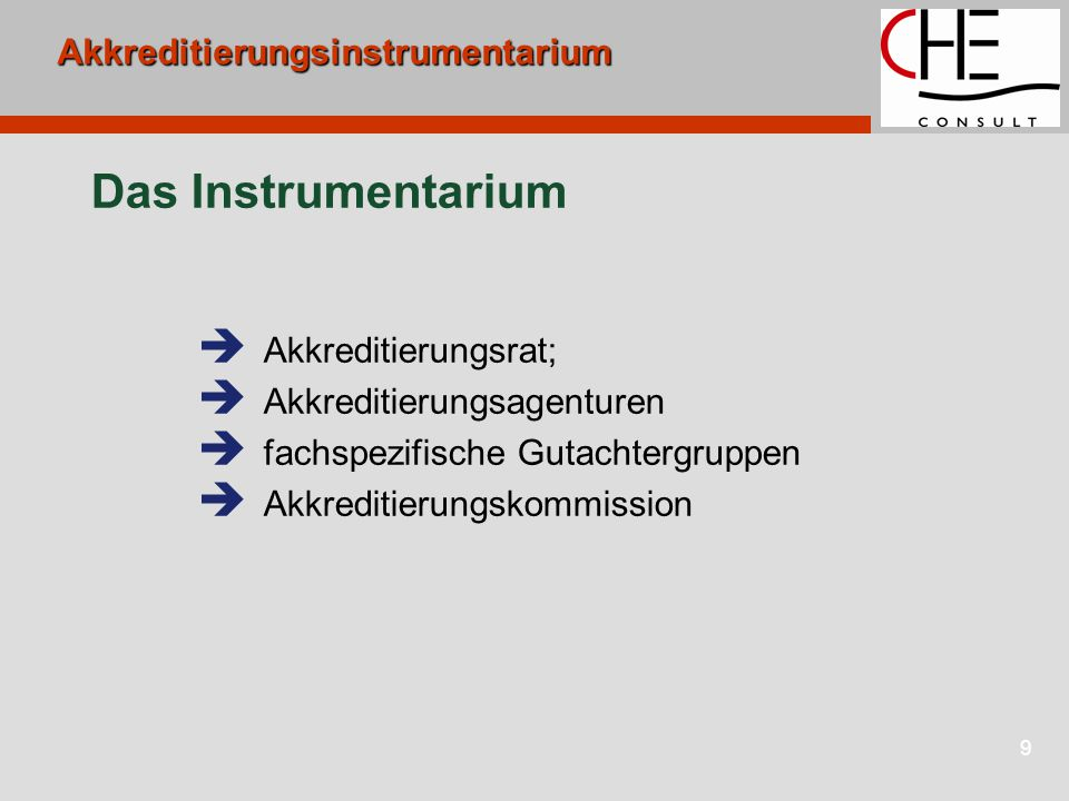10 Akkreditierungssystem II KMK Innen- minister HRKStud.