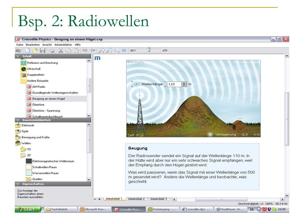 Bsp. 2: Radiowellen