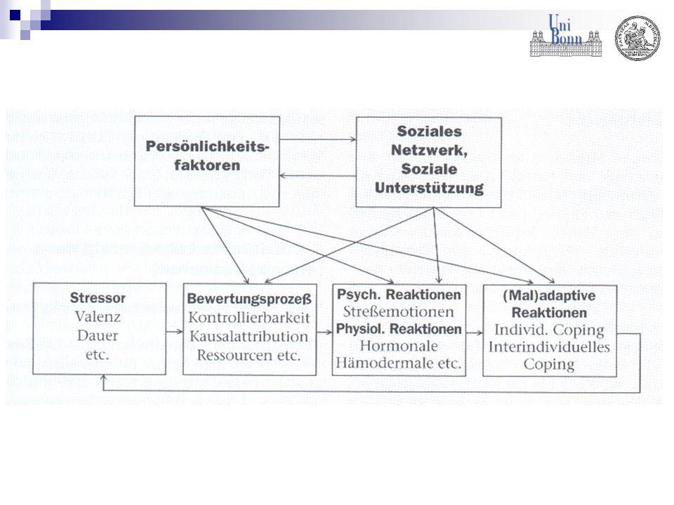 Entwicklung und wissenschaftliche Definition des Stressbegriffs Stressmodell von Lazarus Arten von Stress Stress HyperstressDistressHypostressEustress