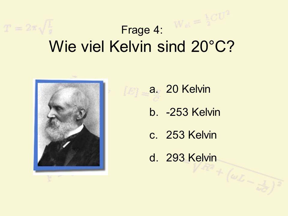 Frage 25: Das Ohm'sche Gesetz gibt einen Zusammenhang zwischen...