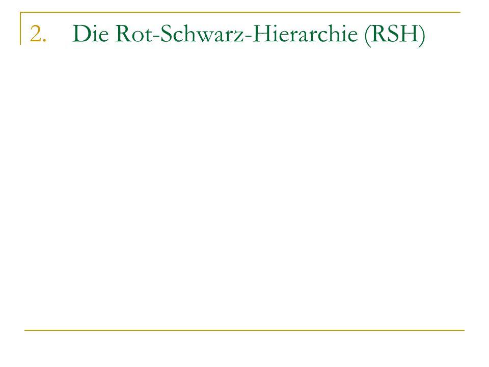 2.Die Rot-Schwarz-Hierarchie (RSH)
