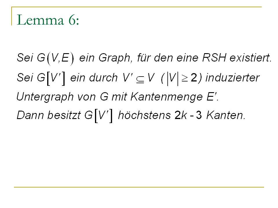 Lemma 6: