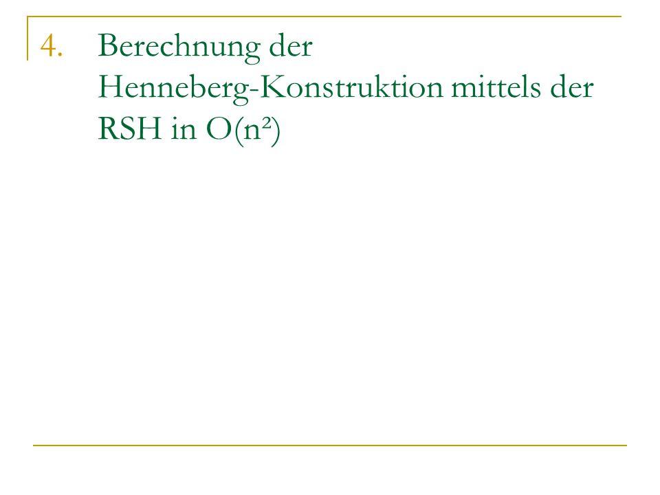 4.Berechnung der Henneberg-Konstruktion mittels der RSH in O(n²)