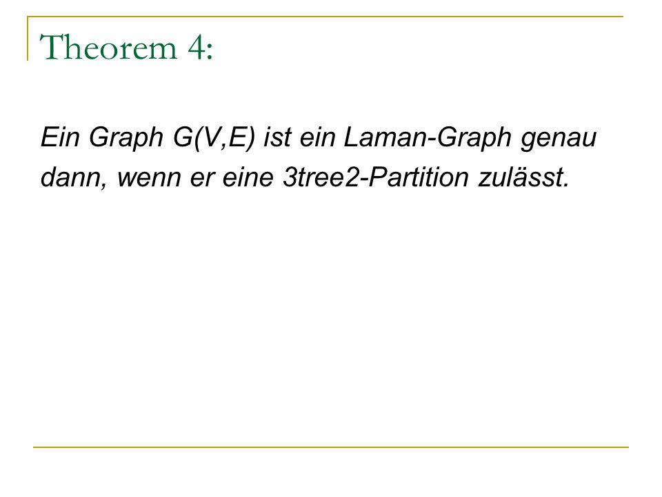 Es wird nun immer die Kante e ermittelt, die bei der Lösch- Operation vom Typ II hinzugefügt werden soll: a b a b v c e c