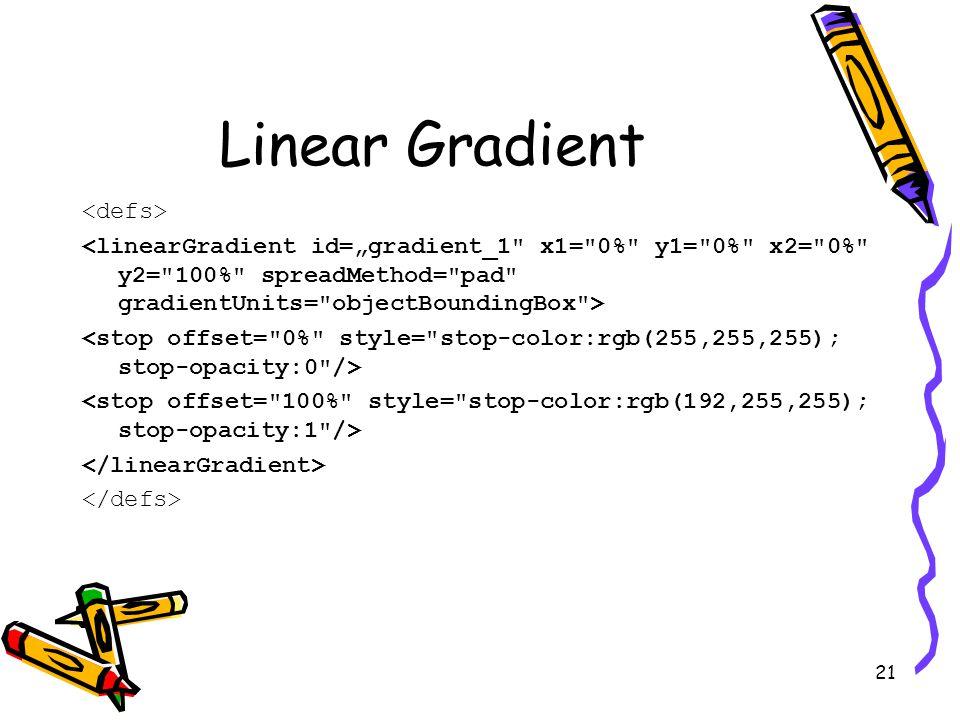 21 Linear Gradient