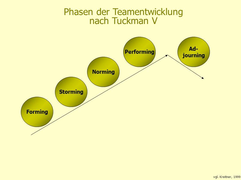 Bildung fürs Leben 01.06.2015 SMK – Bildung fürs Leben 12 Phasen der Teamentwicklung nach Tuckman V Forming Storming Norming Ad- journing Performing v