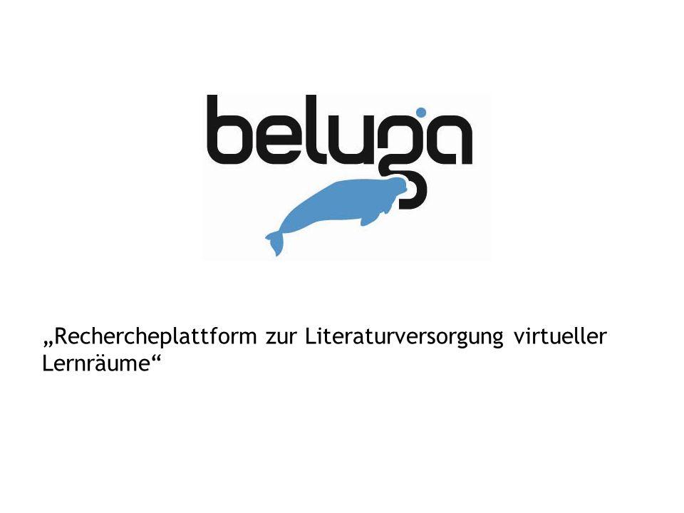 """""""Rechercheplattform zur Literaturversorgung virtueller Lernräume"""""""