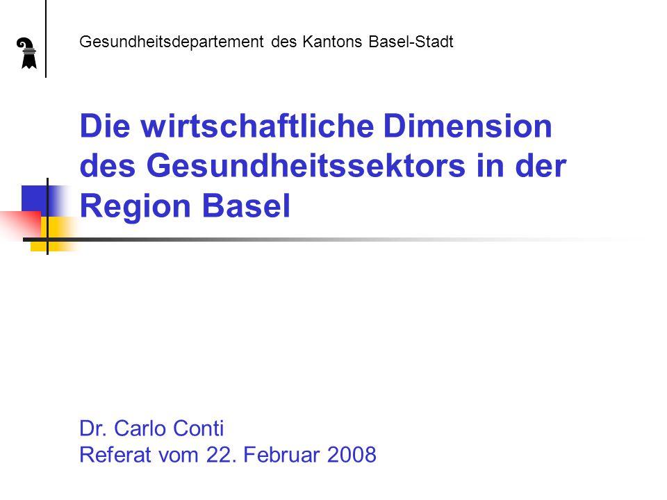1. Ausgangslage Gesundheitsdepartement des Kantons Basel-Stadt