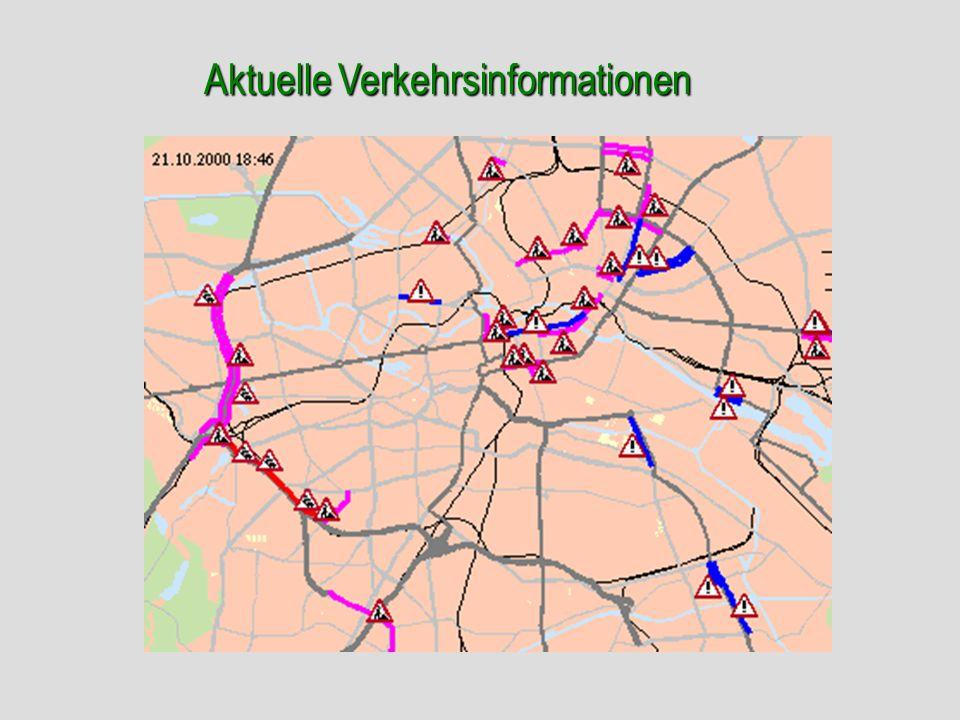Aktuelle Verkehrsinformationen