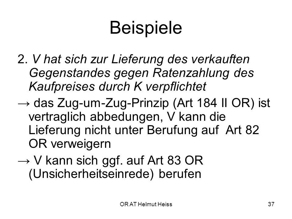 OR AT Helmut Heiss37 Beispiele 2.