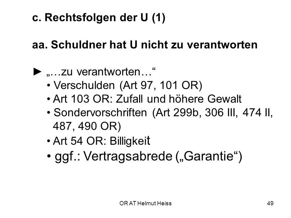 OR AT Helmut Heiss49 c.Rechtsfolgen der U (1) aa.