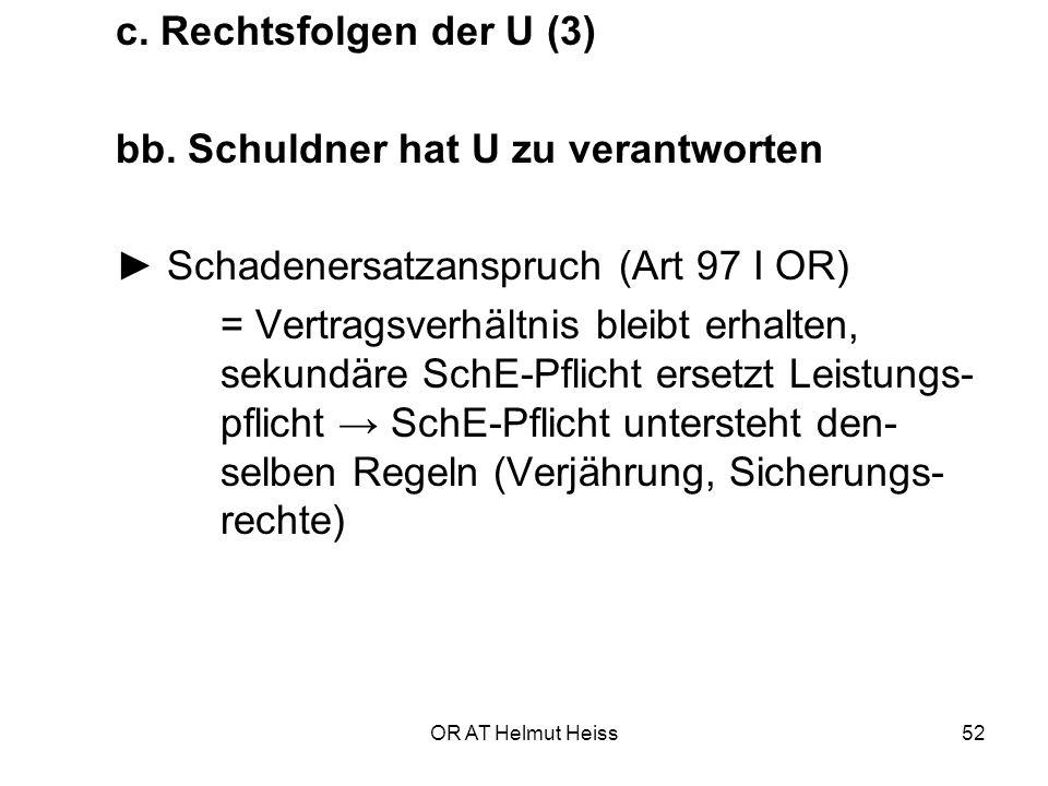 OR AT Helmut Heiss52 c.Rechtsfolgen der U (3) bb.