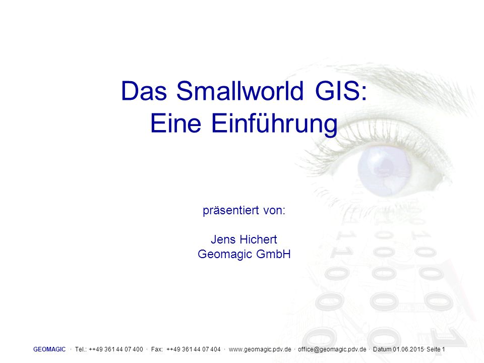 GEOMAGIC · Tel.: ++49 361 44 07 400 · Fax: ++49 361 44 07 404 · www.geomagic.pdv.de · office@geomagic.pdv.de · Datum 01.06.2015· Seite 22 Rollforward disk version v2 v1 rolled forward switches to writable mode  attaches in readonly mode  time
