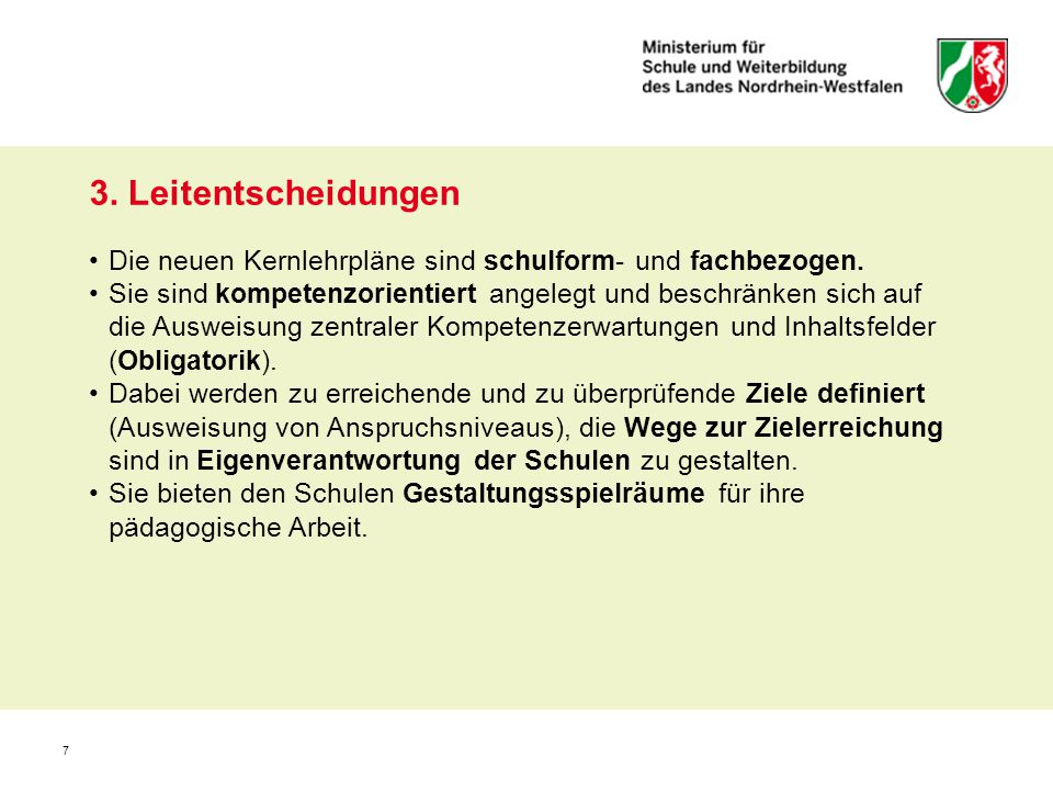 18 Umsetzungsbeispiele aus dem Kernlehrplan (Inhaltsfelder u.