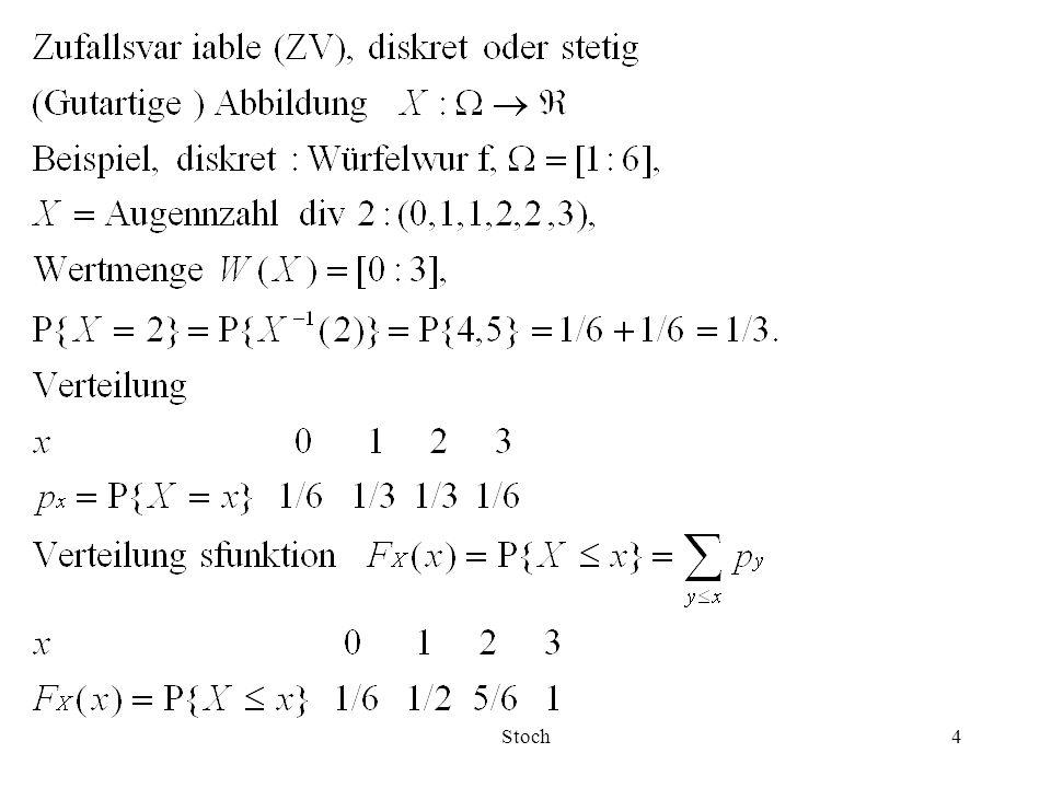 Stoch35 Ist die Varianz  2 unbekannt, so ist das (1-  )-Vertrauensintervall