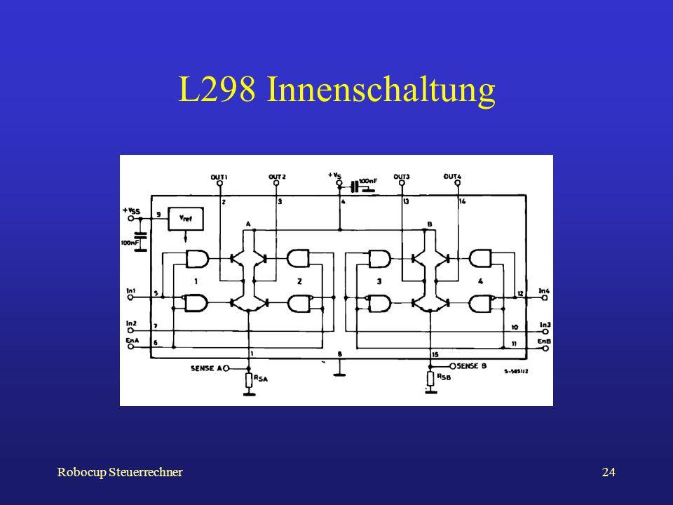 Robocup Steuerrechner24 L298 Innenschaltung