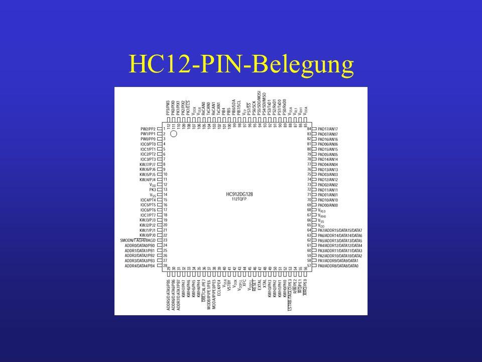 HC12-PIN-Belegung