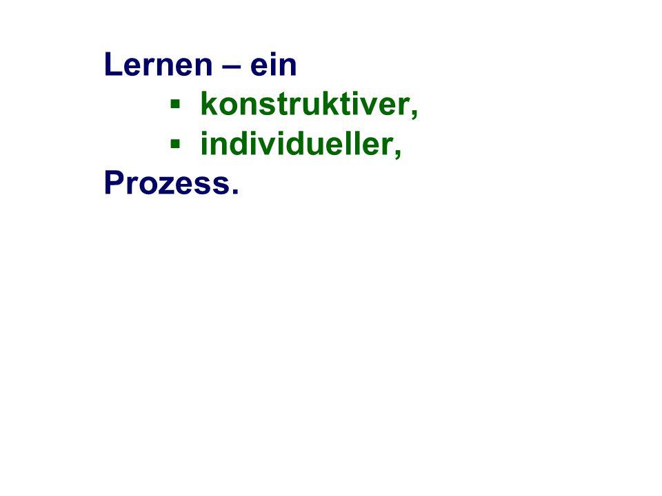 nach Gallin, P., Ruf, U.: Dialogisches Lernen in Sprache und Mathematik, Kallmeyer, Seelze 1998 3.1 Ich – Du – Wir