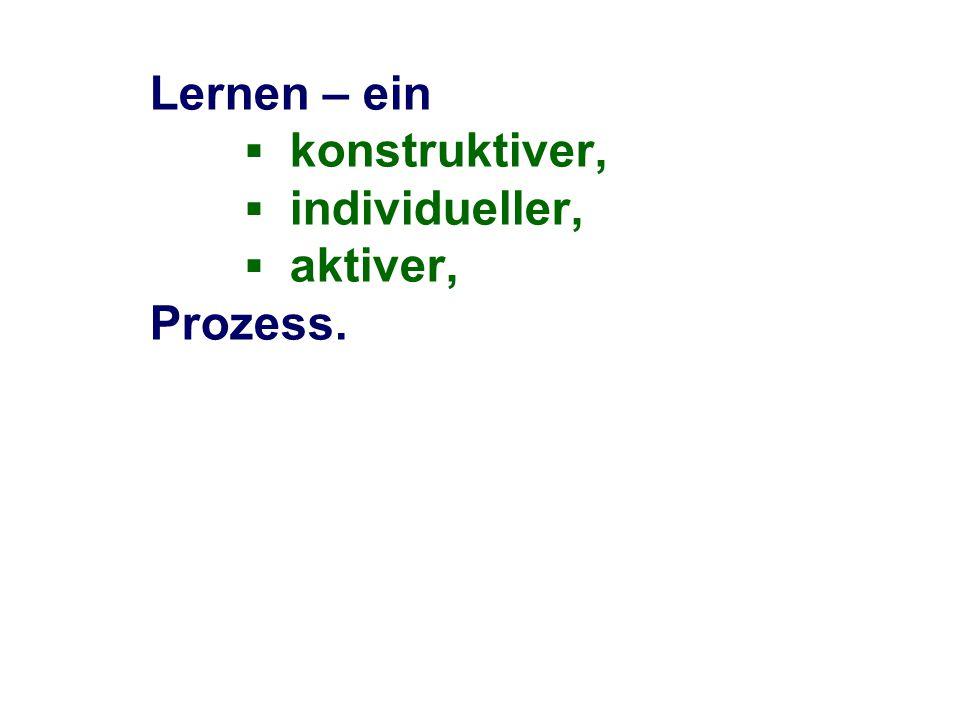 Literatur/Materialien Ulm, V.: Mathematikunterricht für individuelle Lernwege öffnen, Kallmeyer Verlag, Seelze 2007 (3.