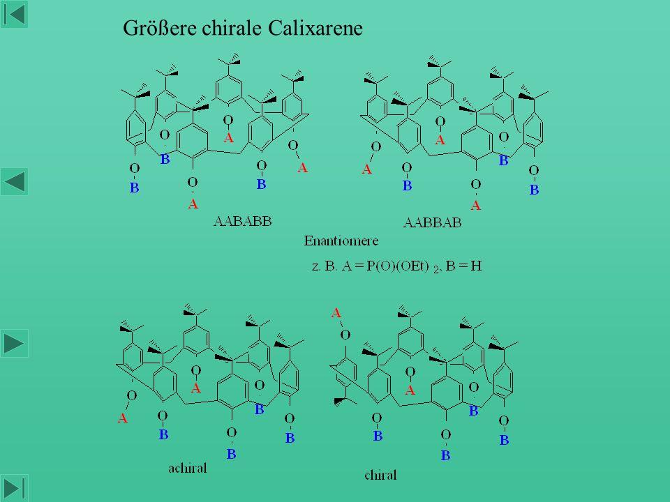 Größere chirale Calixarene