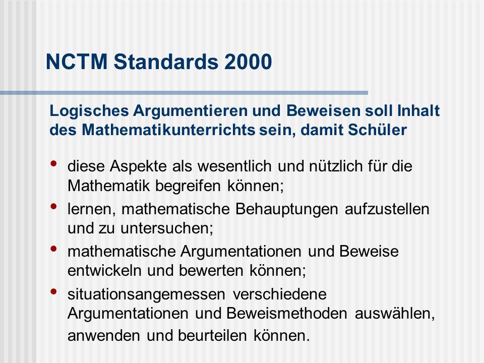 Rolle des Beweisens im Geometrieunterricht Beweisen ist prototypisch für mathe- matisches Arbeiten.