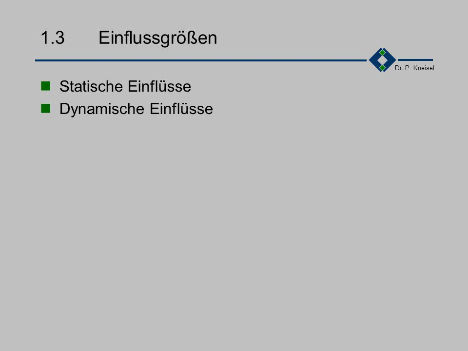 Dr. P. Kneisel 1.2.6Feststellung Qualität ist keine Erfindung der heutigen Zeit: Robert Bosch: Ich habe immer alles so entwickelt, dass es auch den sc