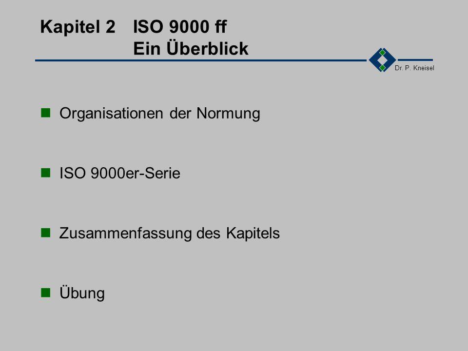 Dr. P. Kneisel 1.9Zusammenfassung des Kapitels Philosophisches Statistiken Kundenwünsche / -unzufriedenheiten Internationaler Vergleich Einflussgrößen