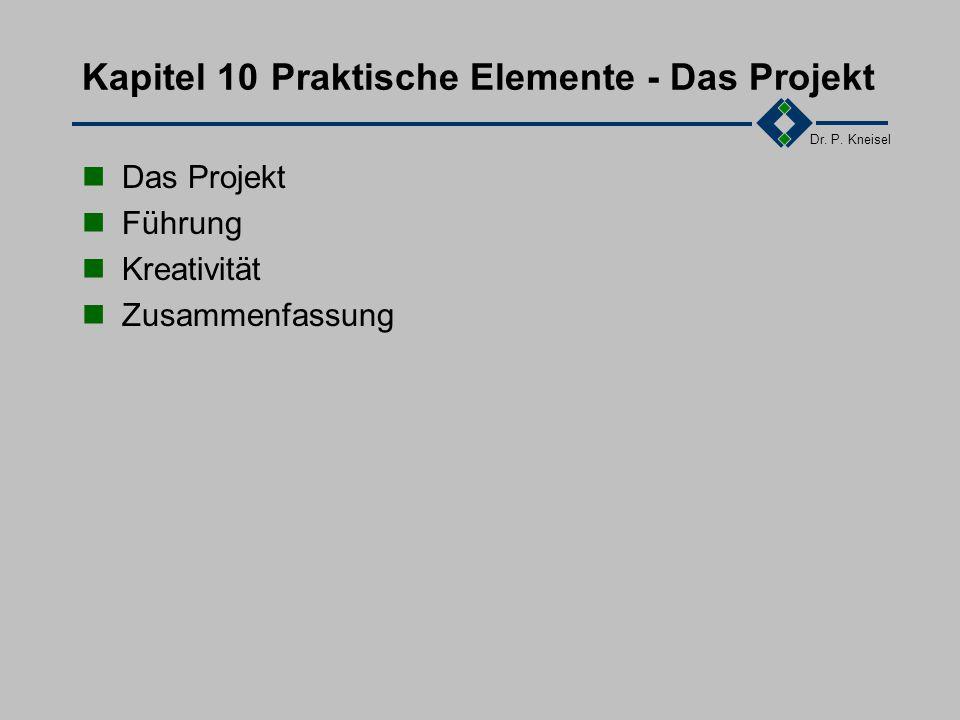 Dr. P. Kneisel 9.5Zusammenfassung Ein Projekt DRES: Data Retrieval and Insertion System System zum massenhaften Betreiben digitaler Vermittlungsnetze