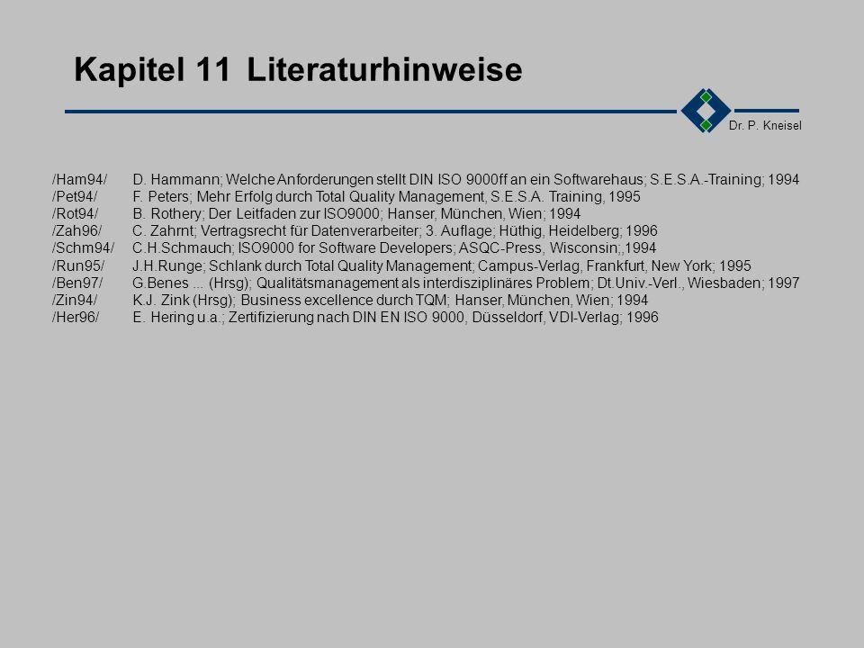 Dr. P. Kneisel 7.9Zusammenfassung des Kapitels