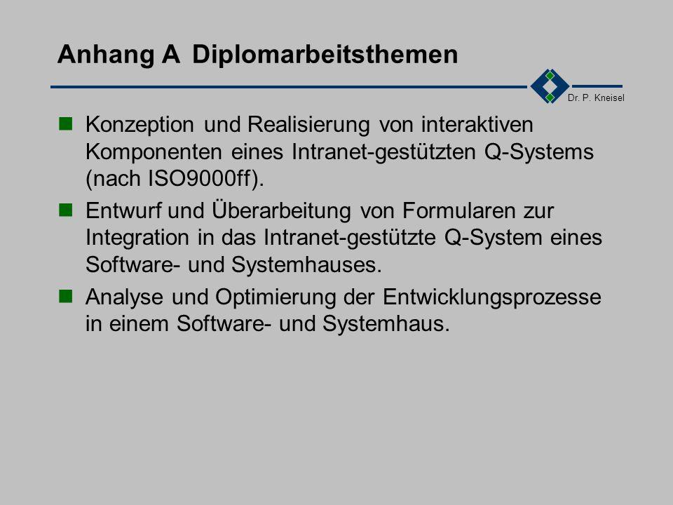 Dr.P. Kneisel Kapitel 11Literaturhinweise /Ham94/D.