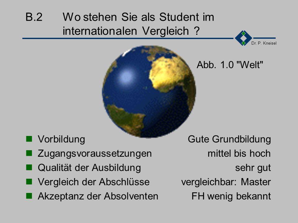 Dr.P. Kneisel B.1Was bedeutet für Sie als Student Qualität .
