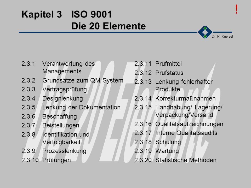 Dr. P. Kneisel 2.5Übung Recherchieren Sie nach den DIN ISO EN Normen. Recherchieren Sie nach Literatur über ISO 9000 In der FH-Bibliothek Giessen In d