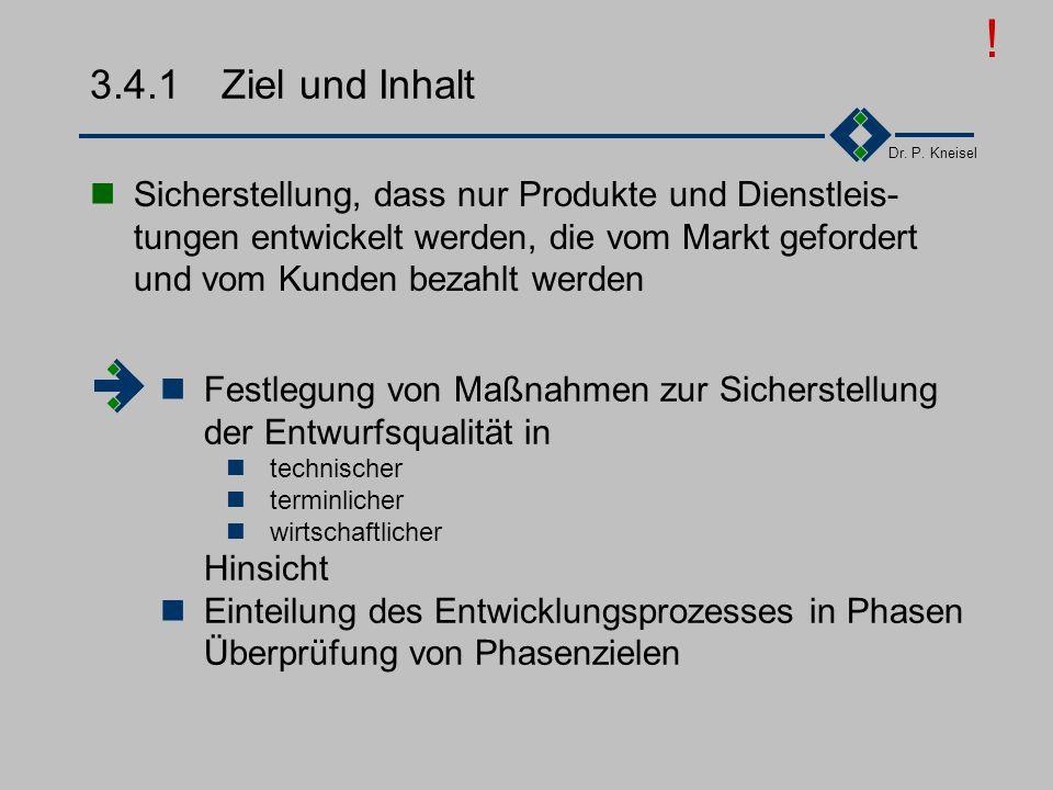 Dr. P. Kneisel 3.4Designlenkung Die Norm, die aus dem Bereich der Produktfertigung stammt, definiert Design als alle Tätigkeiten im Rahmen der Entwick